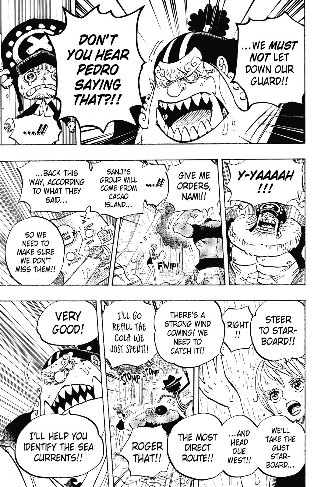 One Piece, Chapter 879 image 005