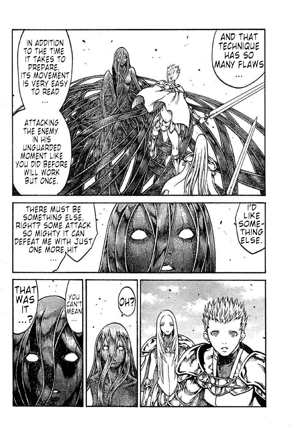 Claymore, Chapter 70 image 007