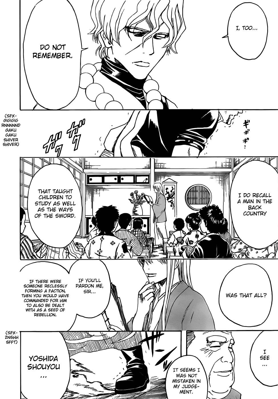 Gintama Chapter, 393 image 008