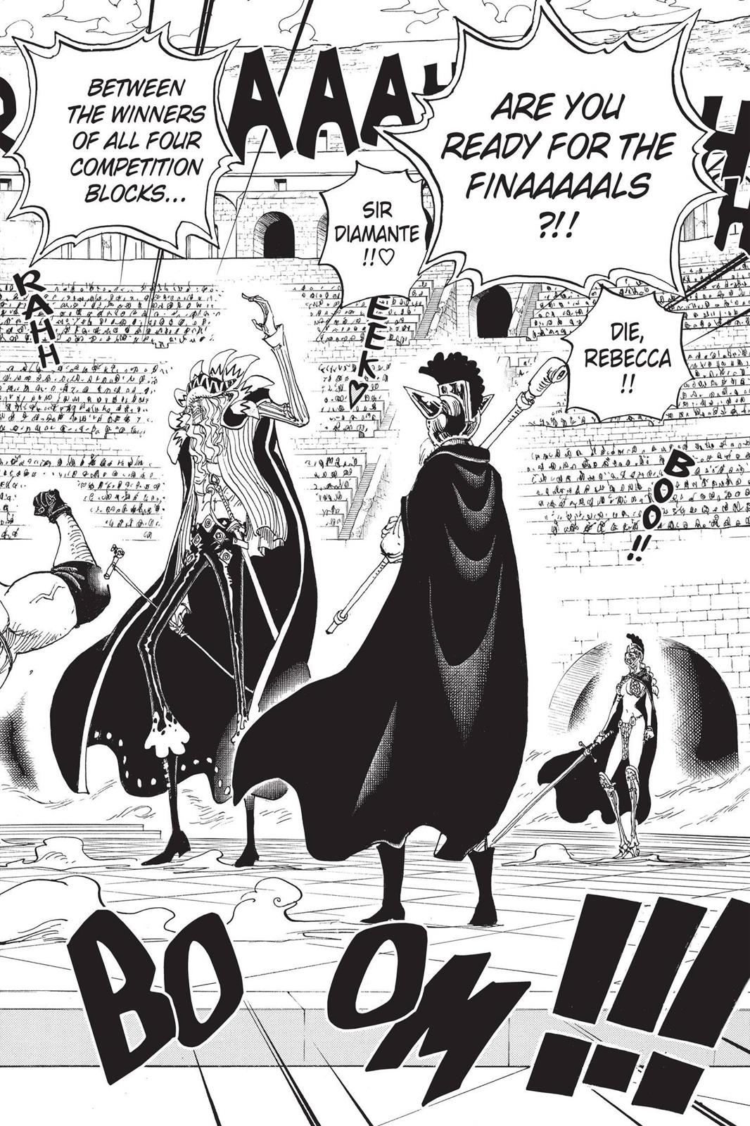 One Piece, Chapter 736 image 002