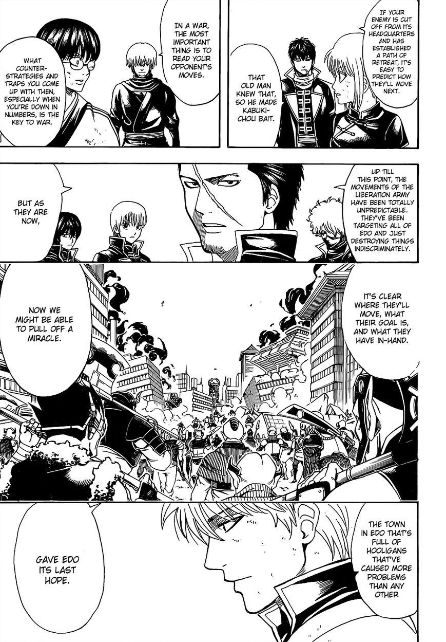 Gintama Chapter, 611 image 013