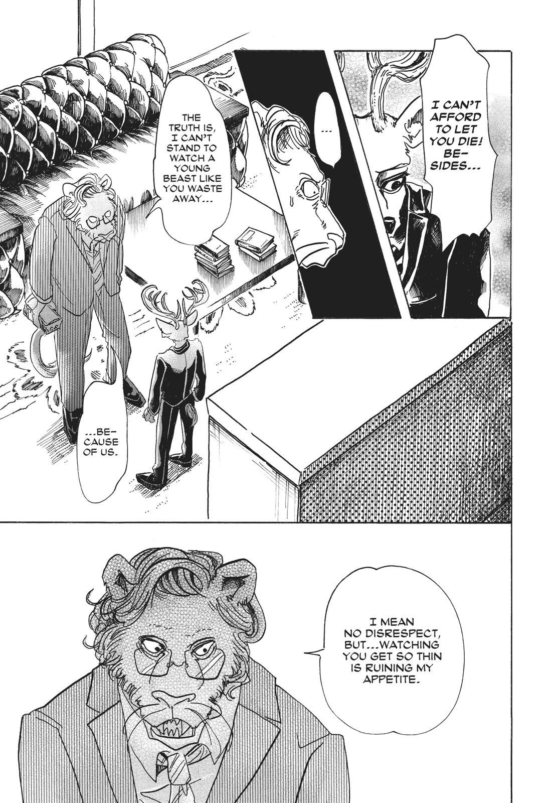 Beastars Manga, Chapter 56 image 017