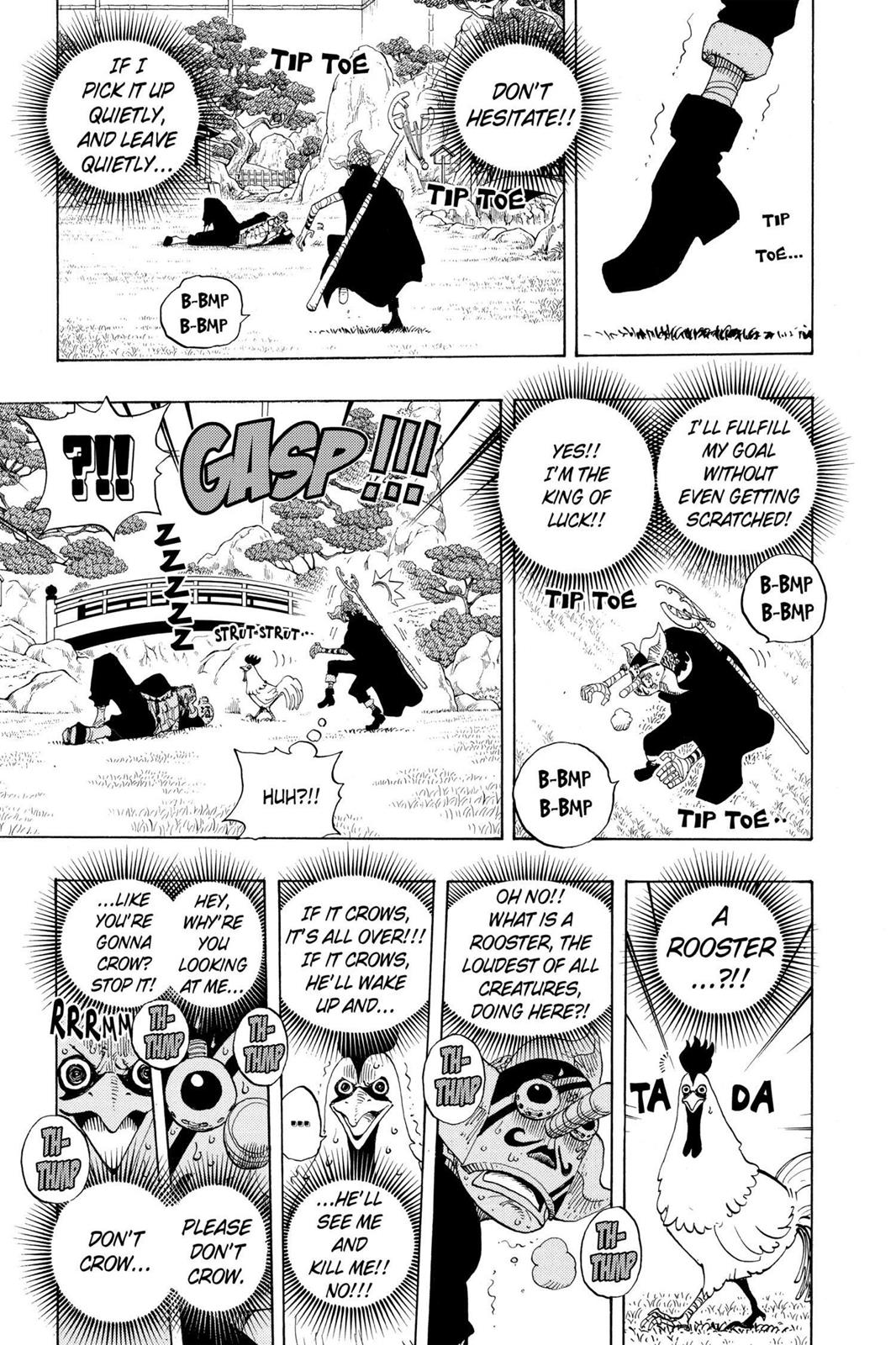 One Piece, Chapter 401 image 014