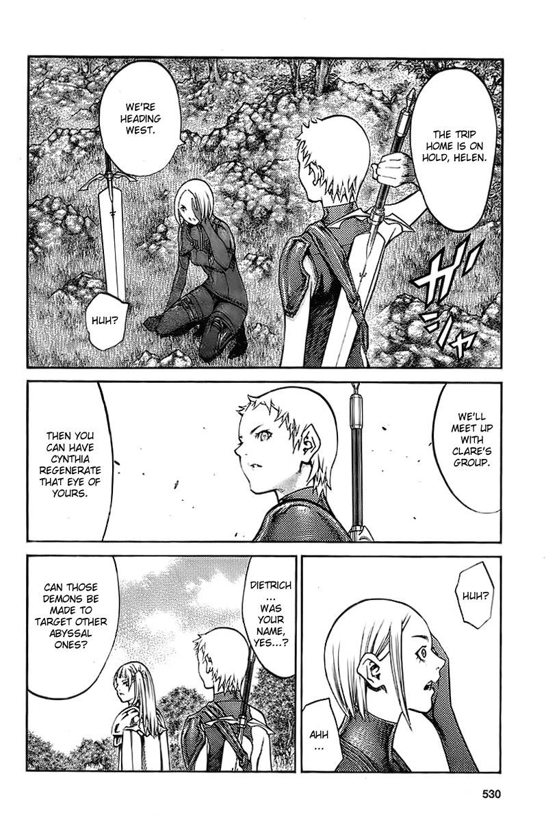 Claymore, Chapter 89 image 012