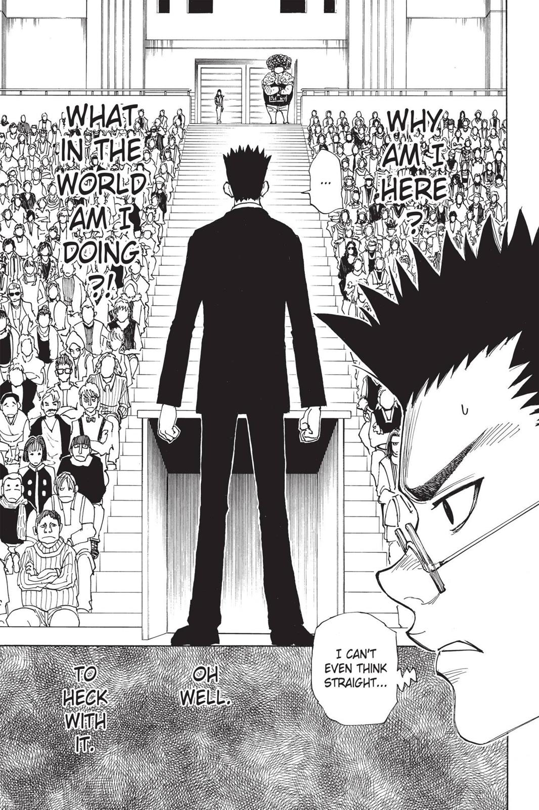 Hunter X Hunter, Chapter 332 image 005