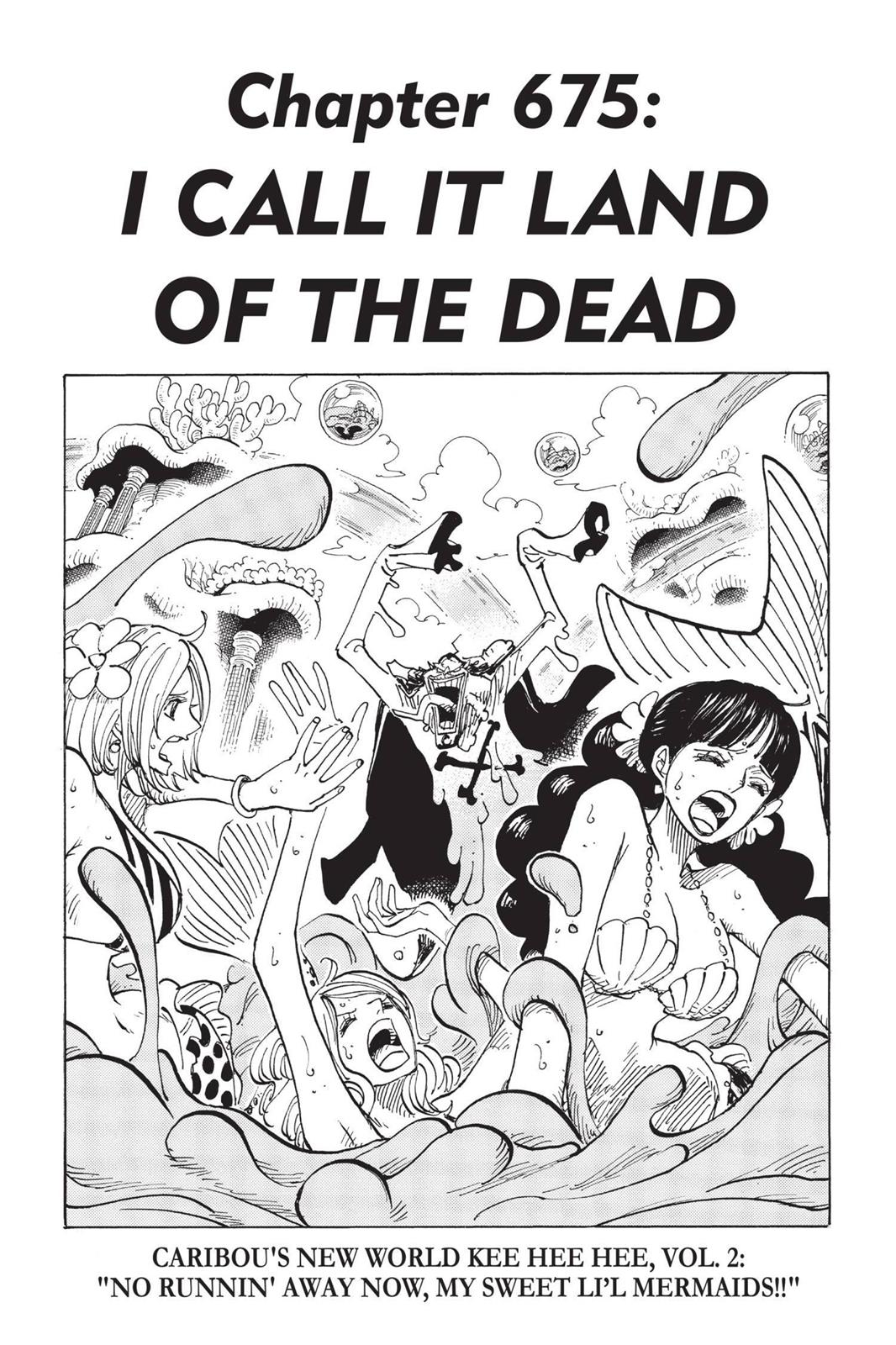 One Piece, Chapter 675 image 001