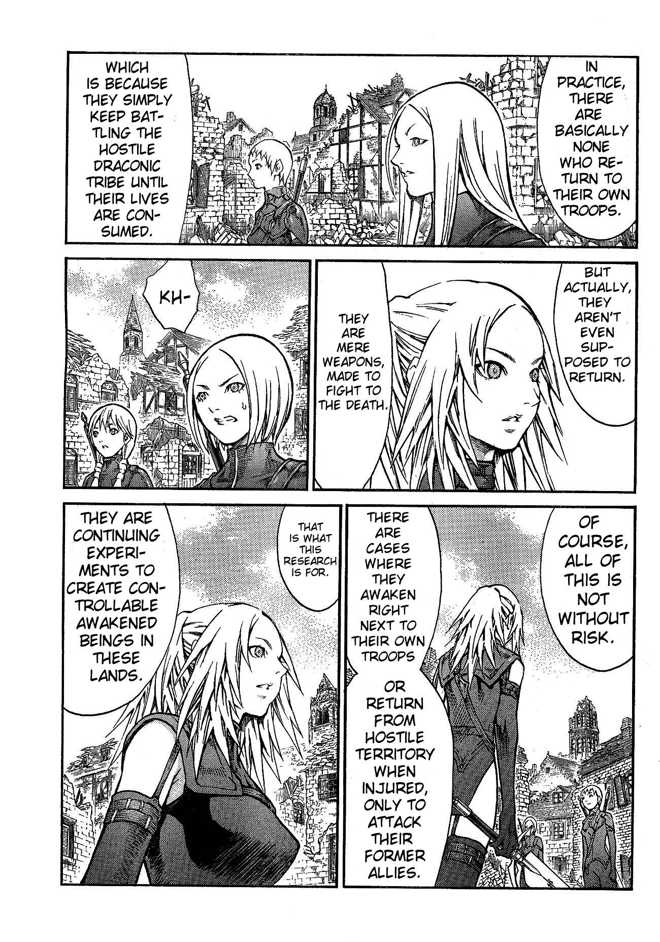 Claymore, Chapter 80 image 004