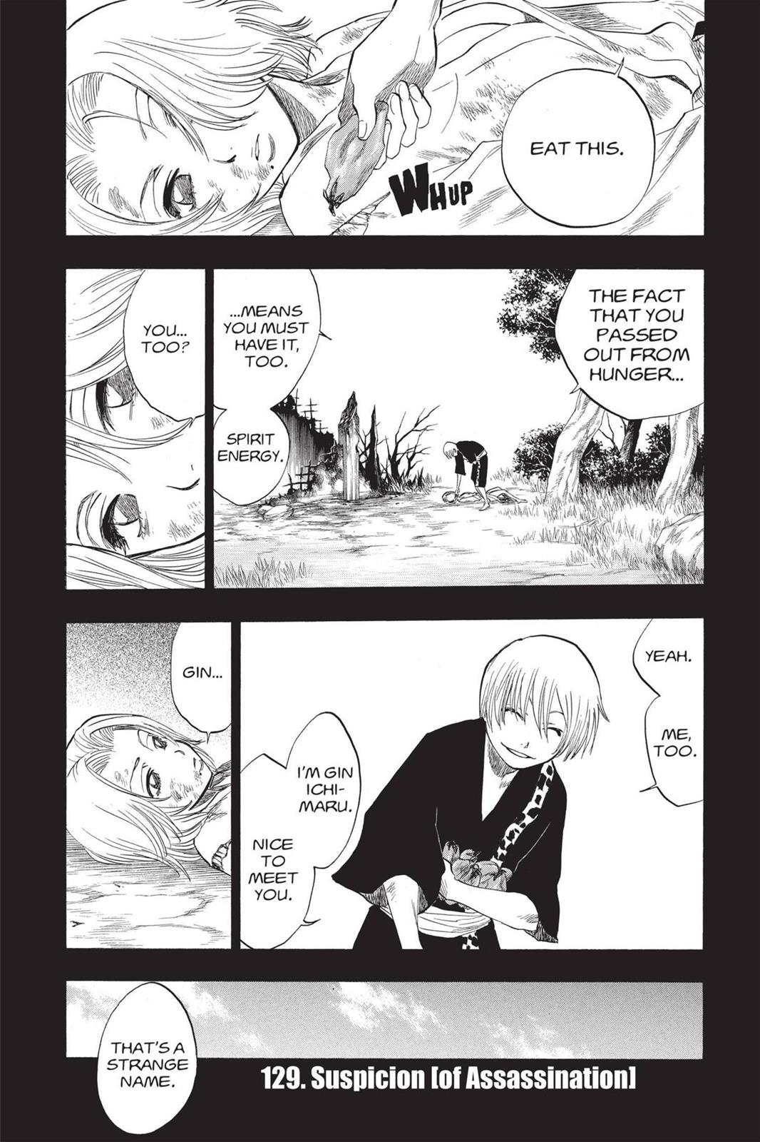 Bleach, Chapter 129 image 001