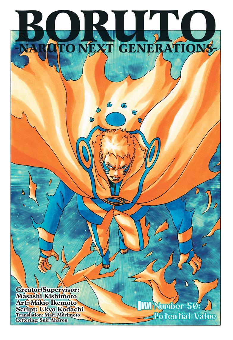 Boruto Manga, Chapter 50 image 001