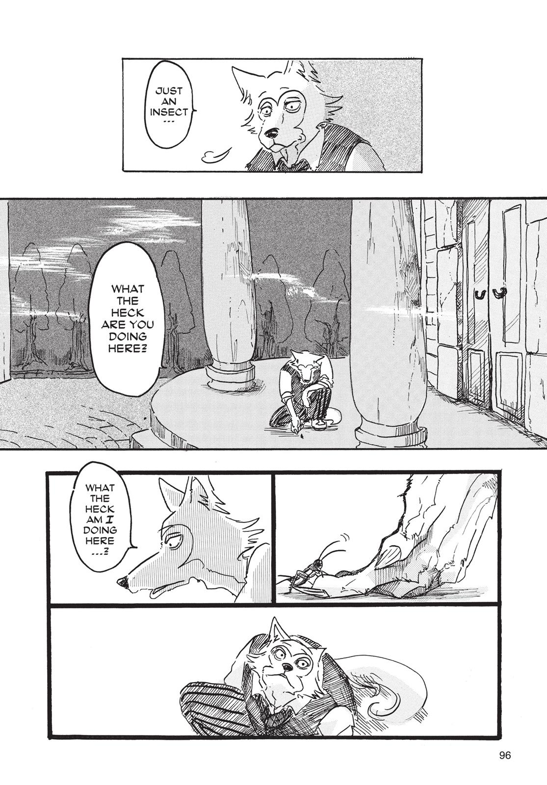 Beastars Manga, Chapter 3 image 004