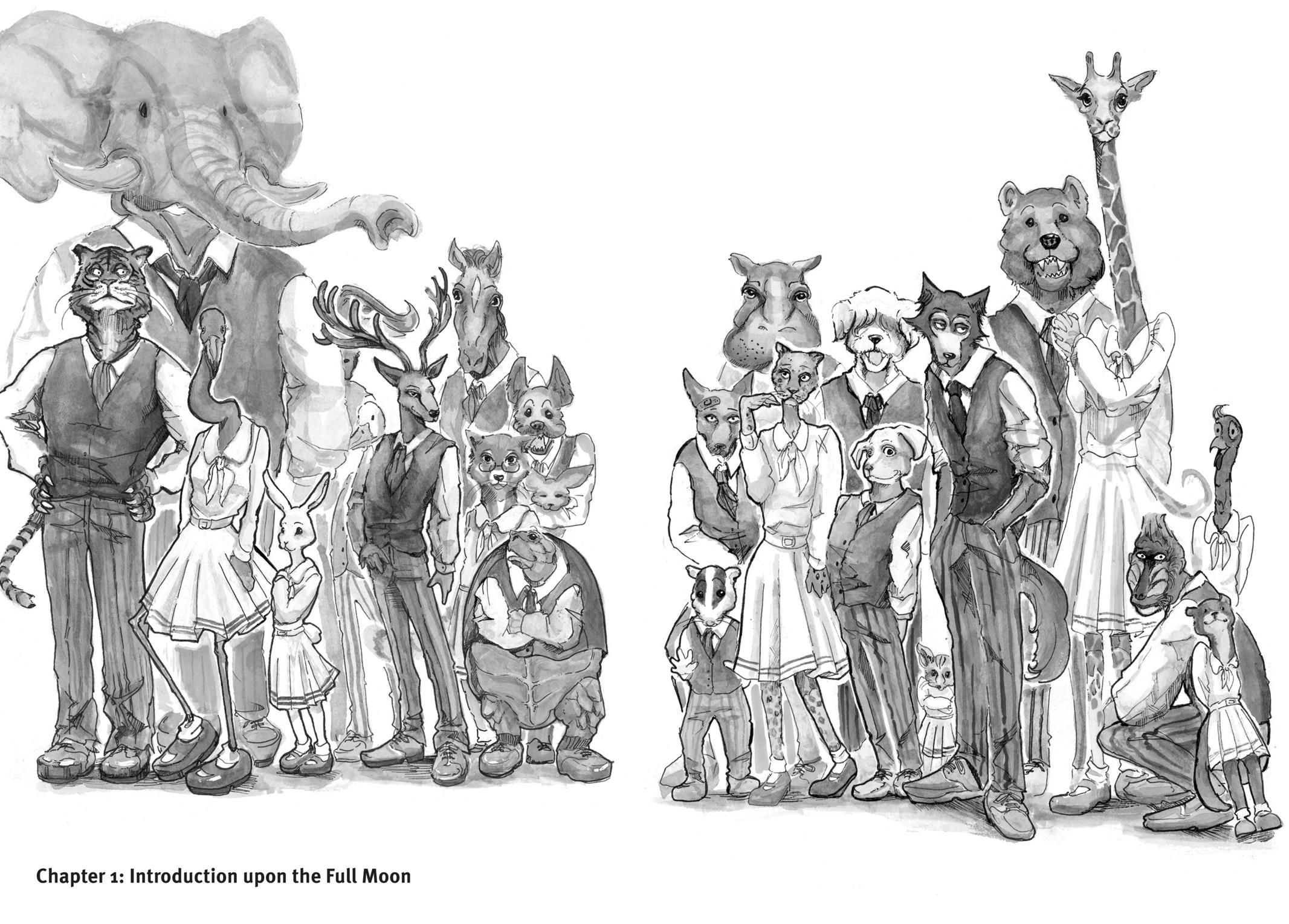 Beastars Manga, Chapter 1 image 006