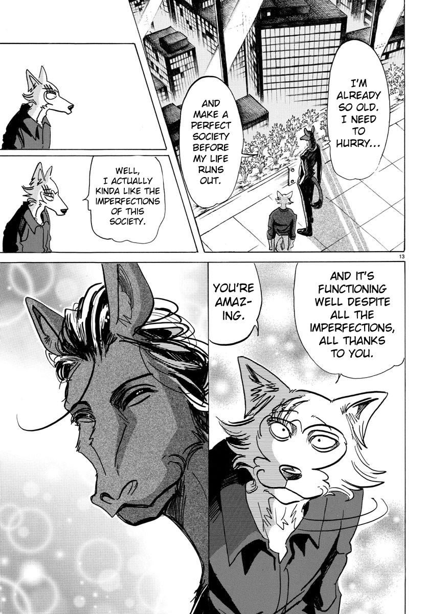 Beastars Manga, Chapter 117 image 012
