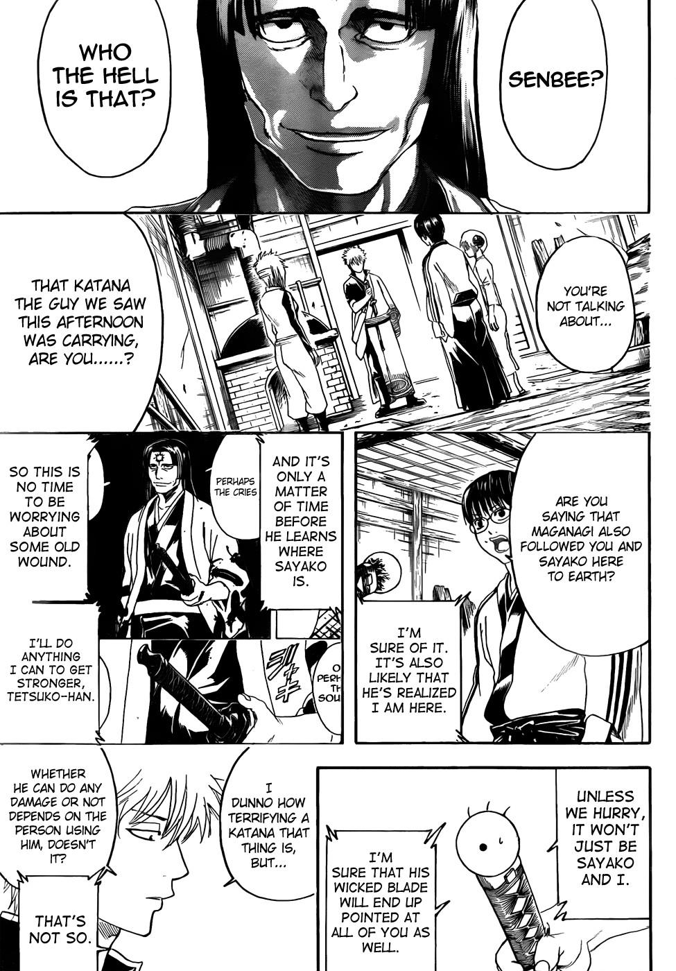 Gintama Chapter, 426 image 011