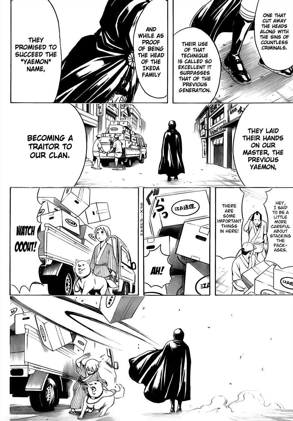 Gintama Chapter, 463 image 016