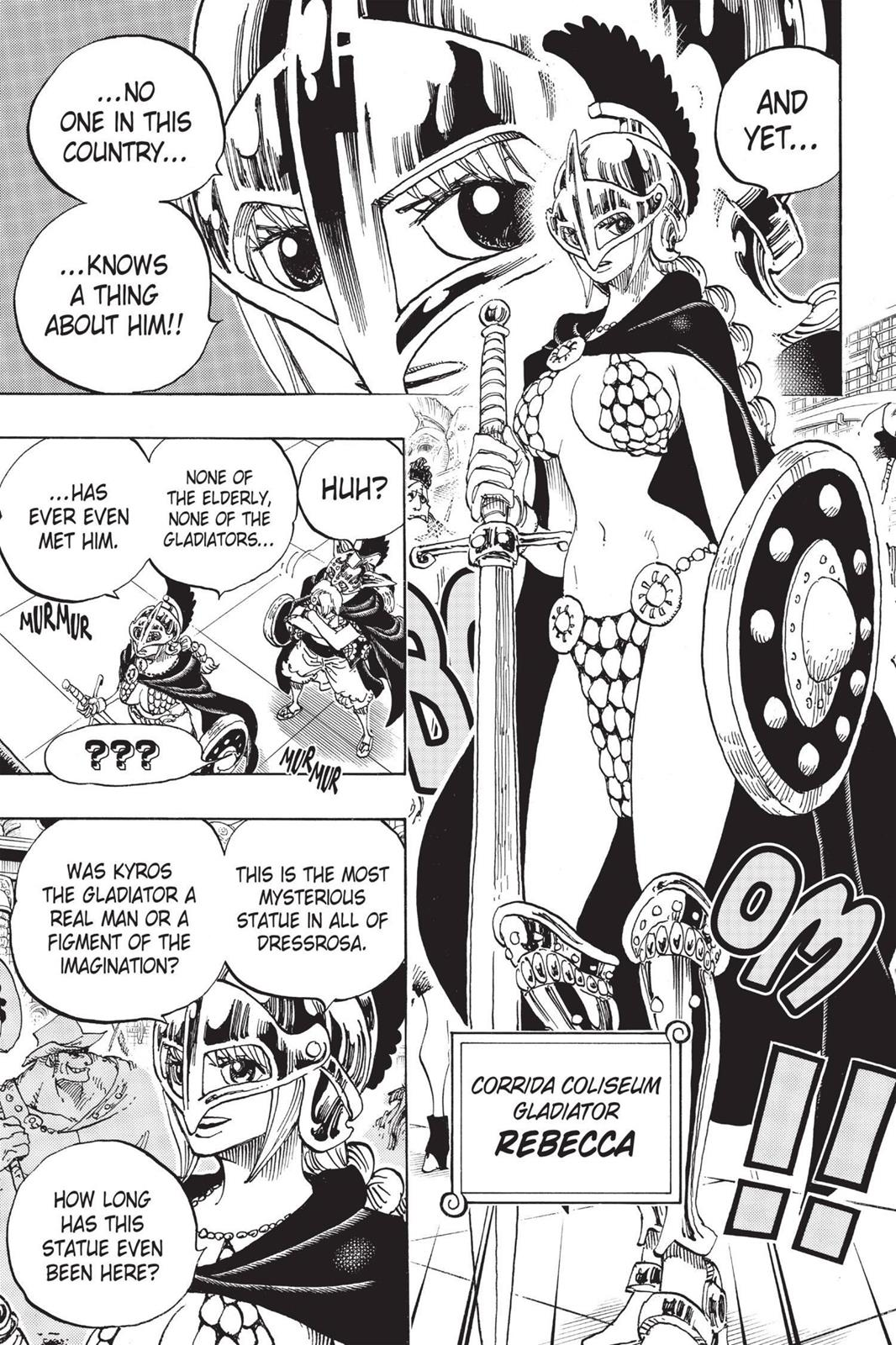 One Piece, Chapter 704 image 015