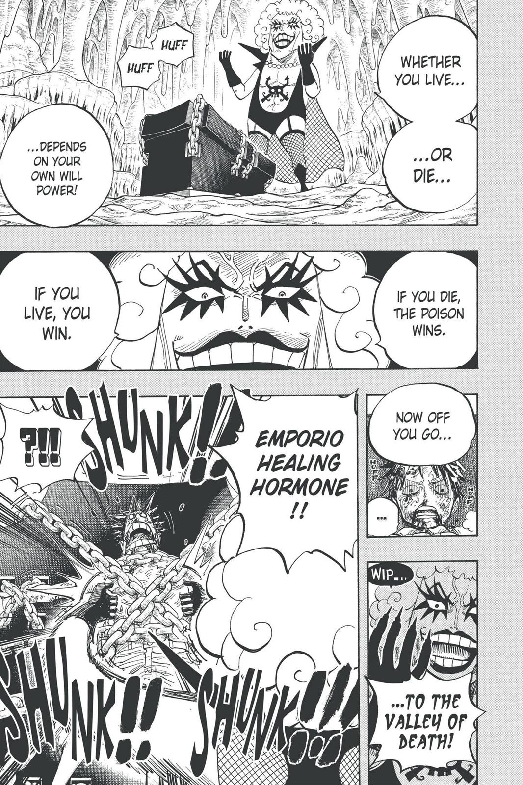 One Piece, Chapter 538 image 003