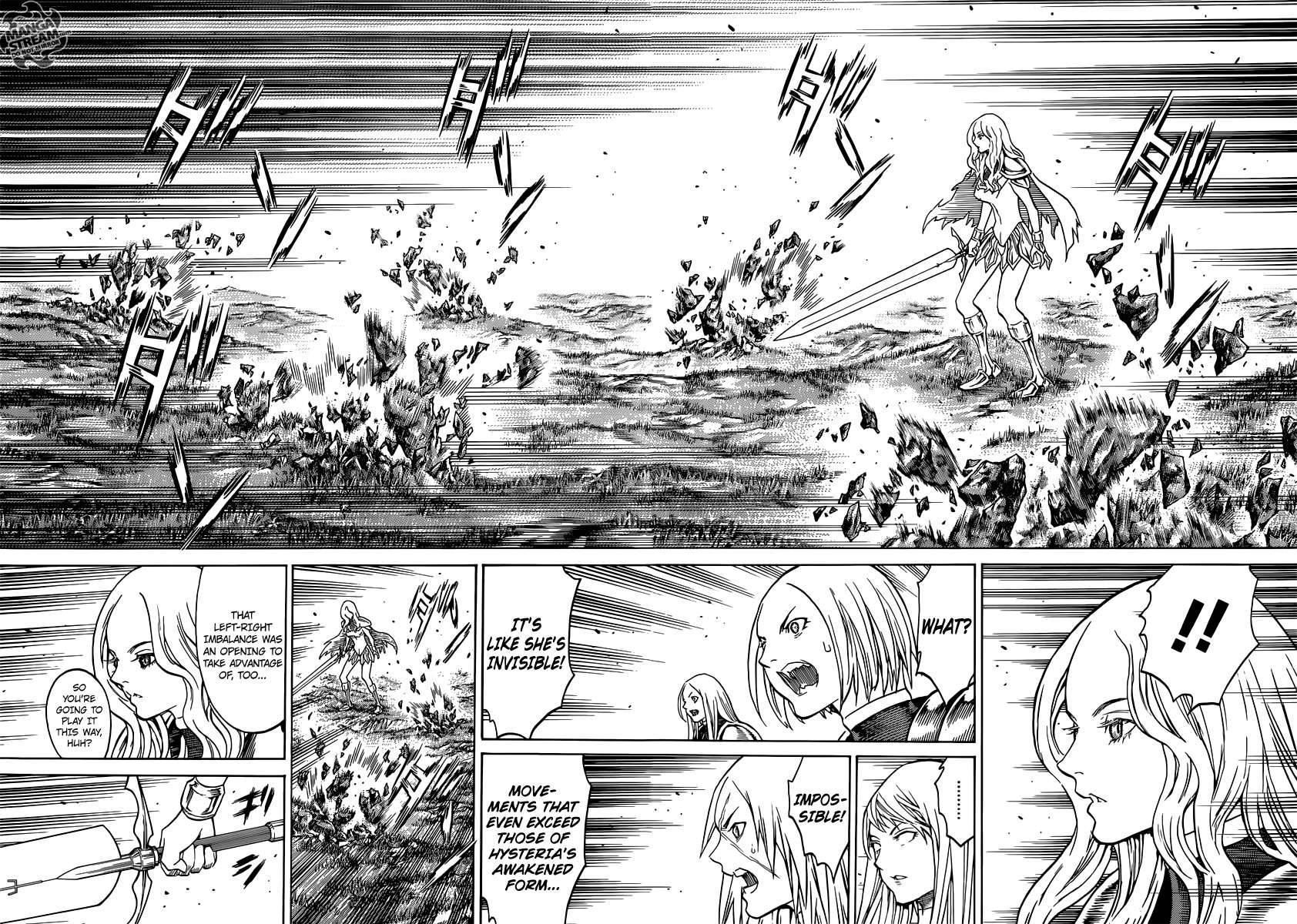 Claymore, Chapter 153 image 008