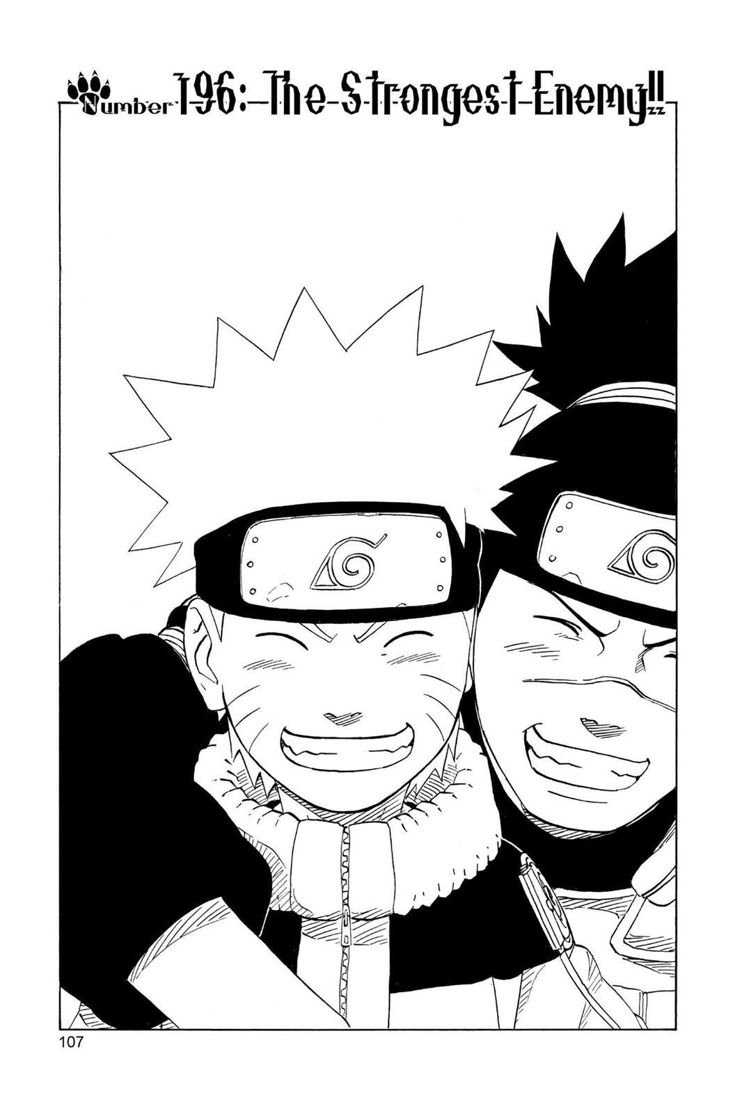 Naruto, Chapter 196 image 001