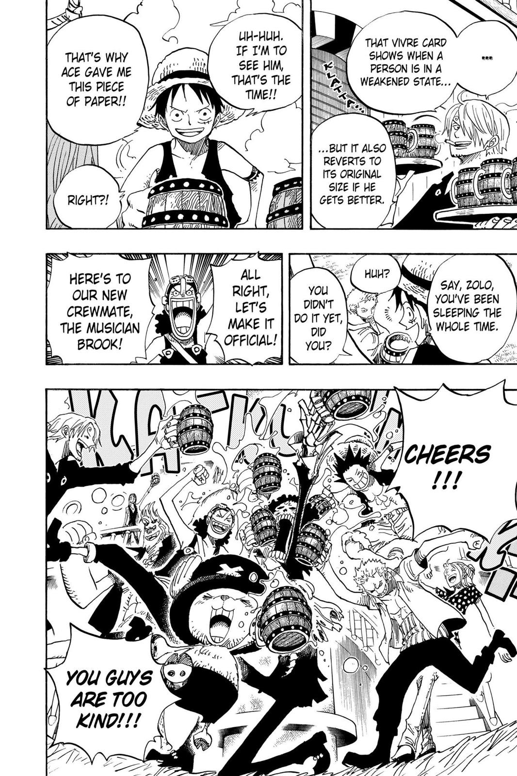 One Piece, Chapter 490 image 006