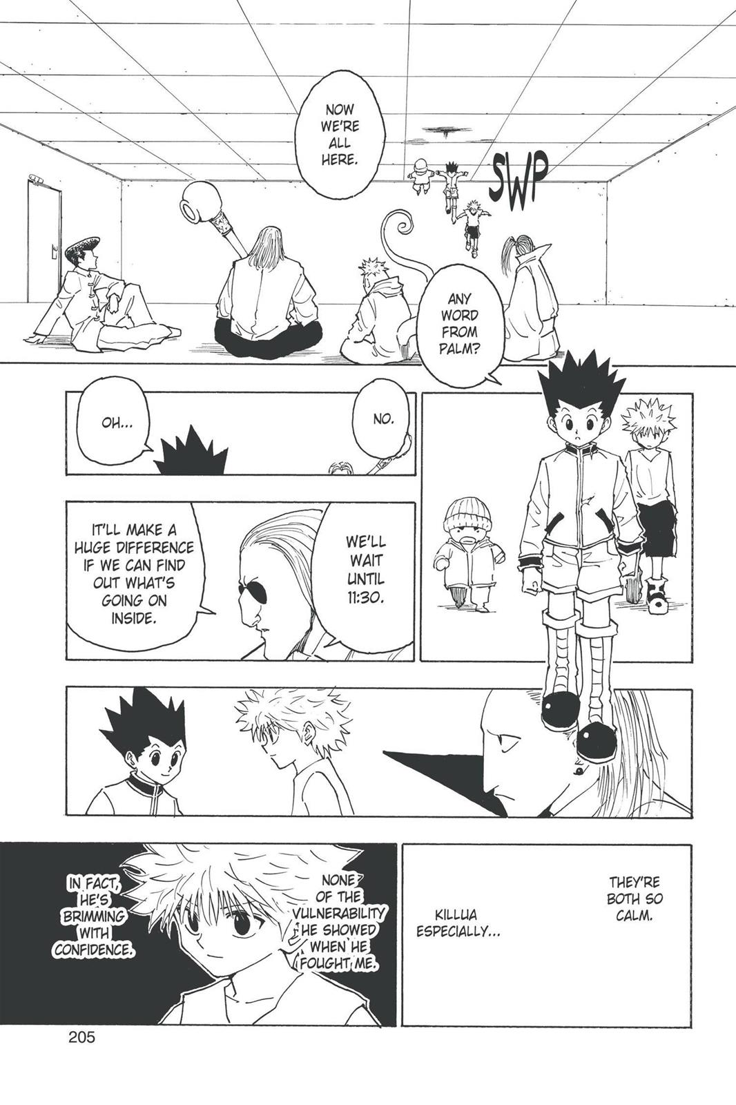 Hunter X Hunter, Chapter 260 image 005