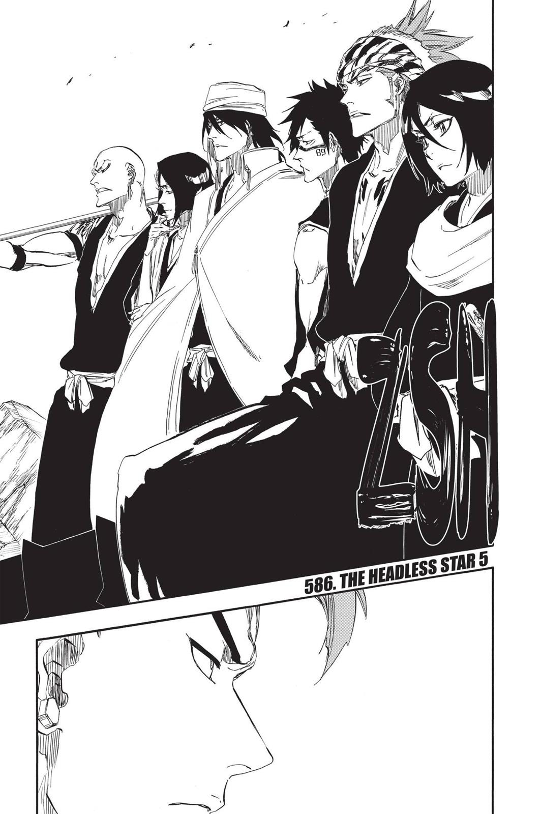 Bleach, Chapter 586 image 001