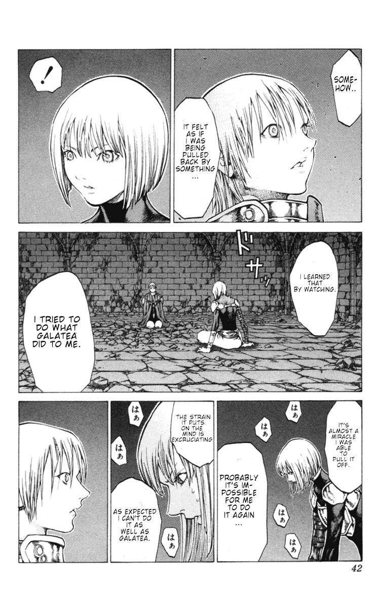 Claymore, Chapter 47 image 004