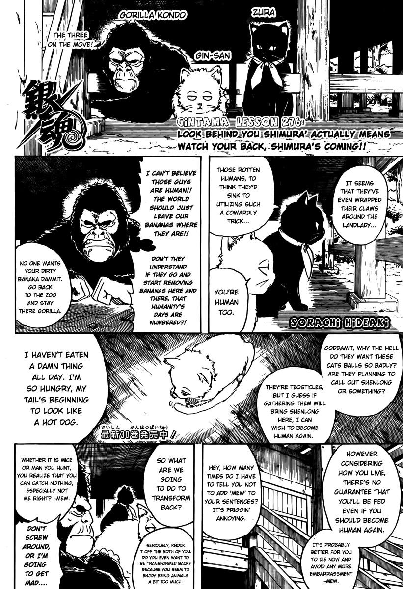 Gintama Chapter, 276 image 002