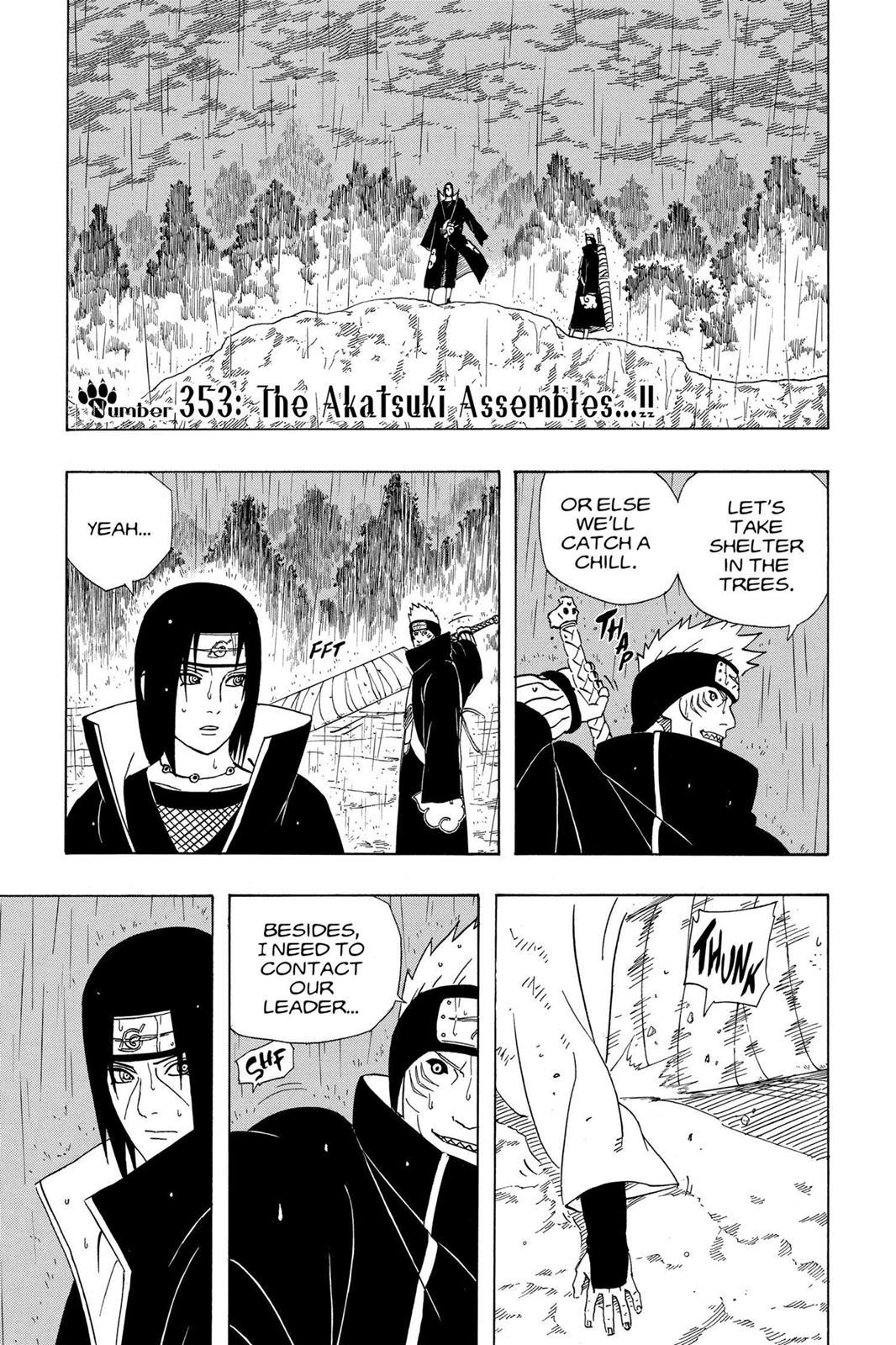 Naruto, Chapter 353 image 001
