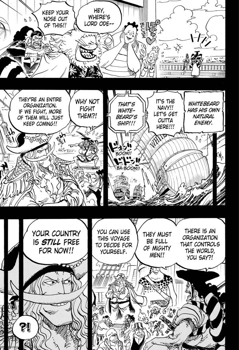 One Piece, Chapter 965 image 003