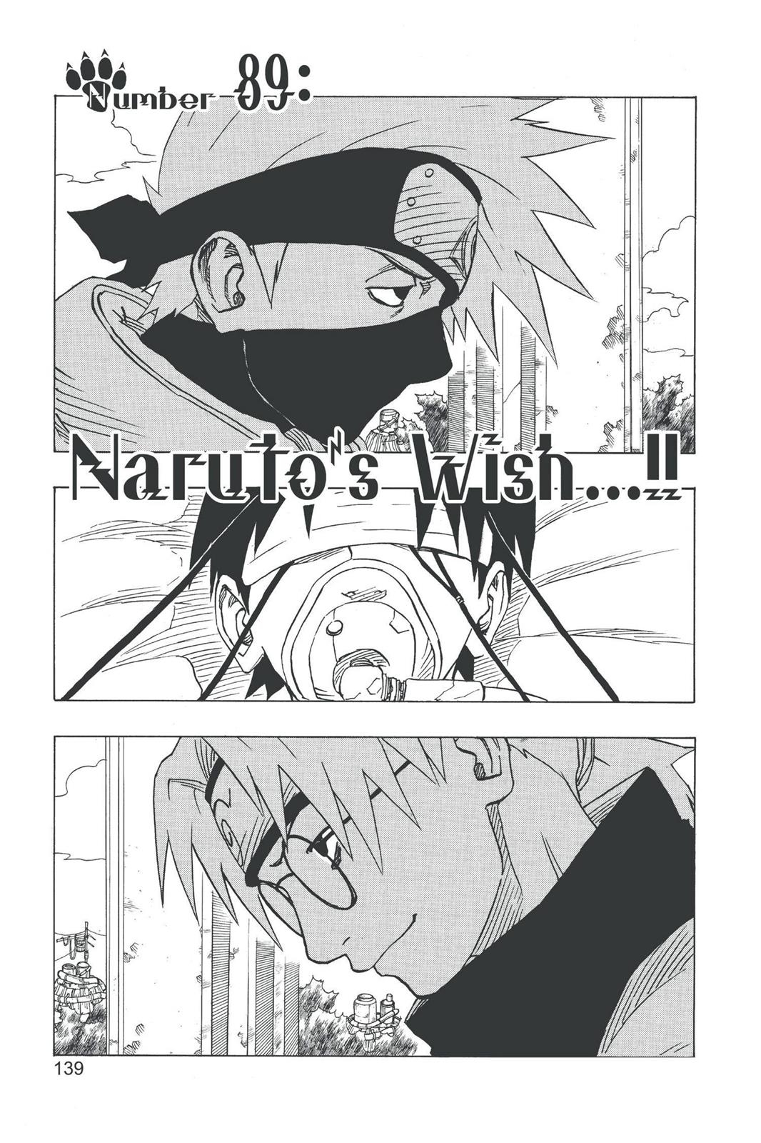 Naruto, Chapter 89 image 001