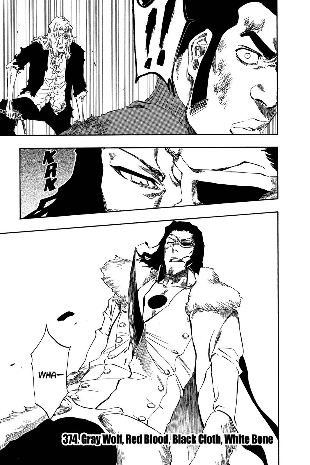 Bleach, Chapter 374 image 001