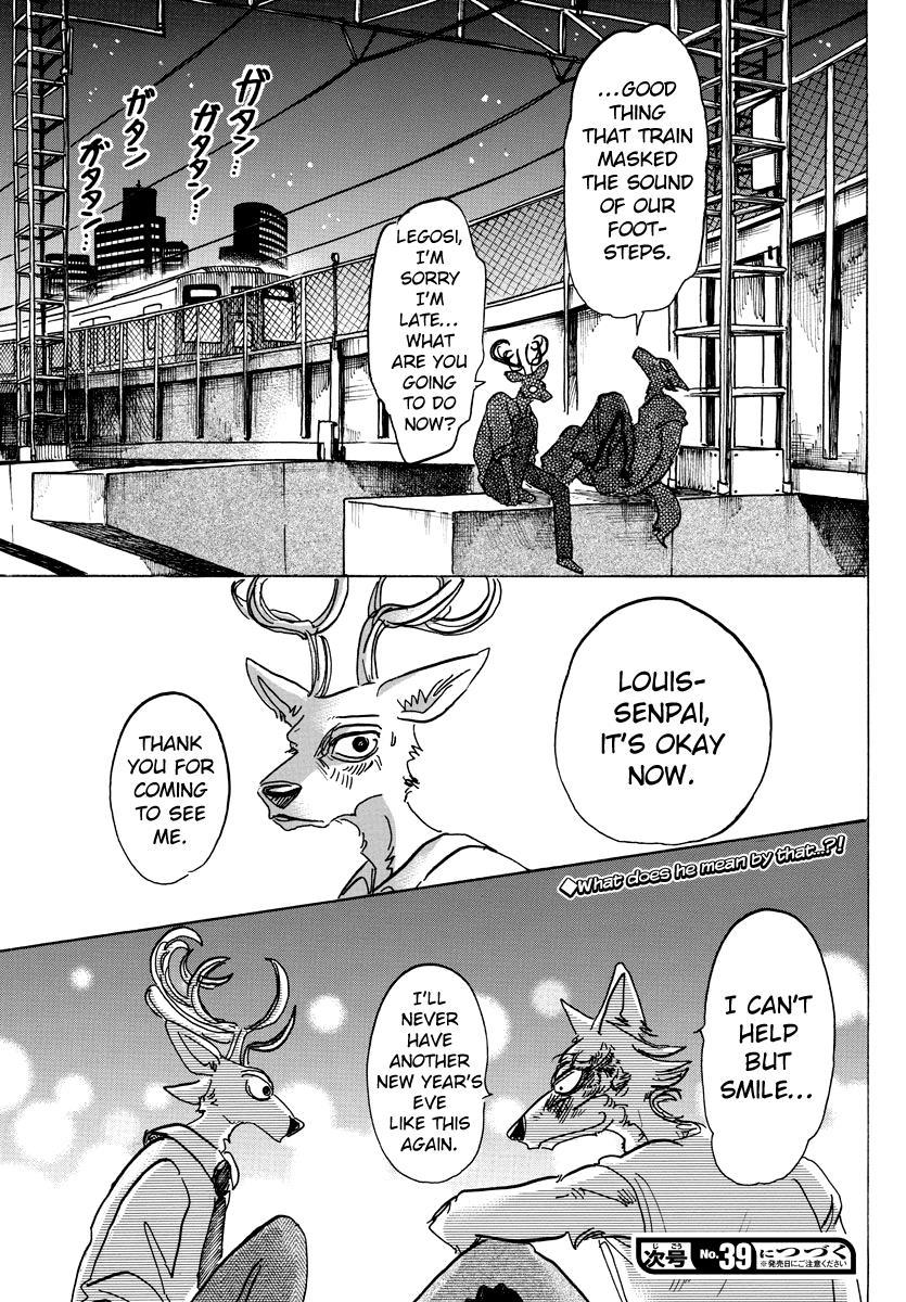 Beastars Manga, Chapter 94 image 019