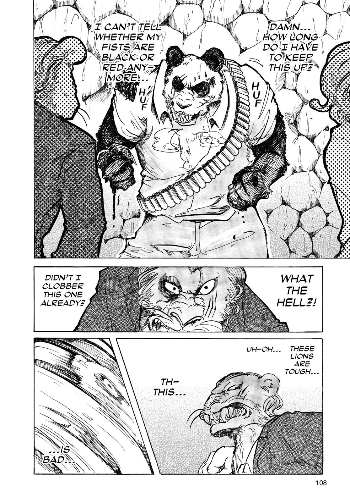 Beastars Manga, Chapter 40 image 002
