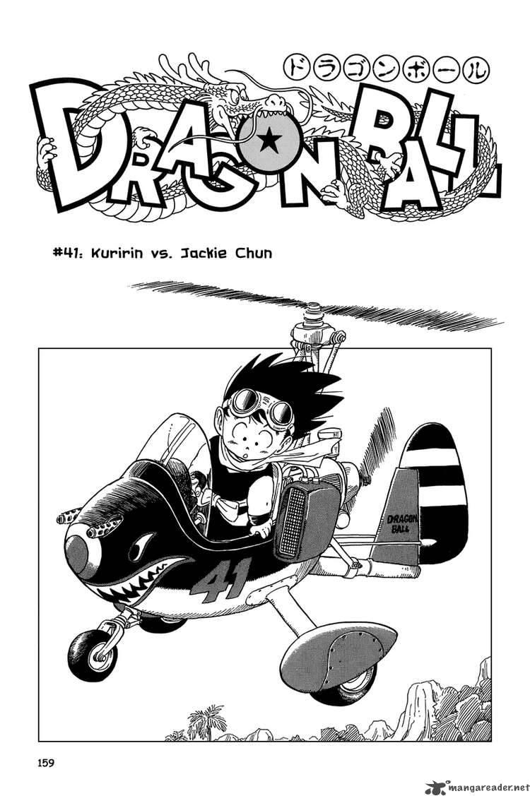 Dragon Ball, Chapter 41 image 001