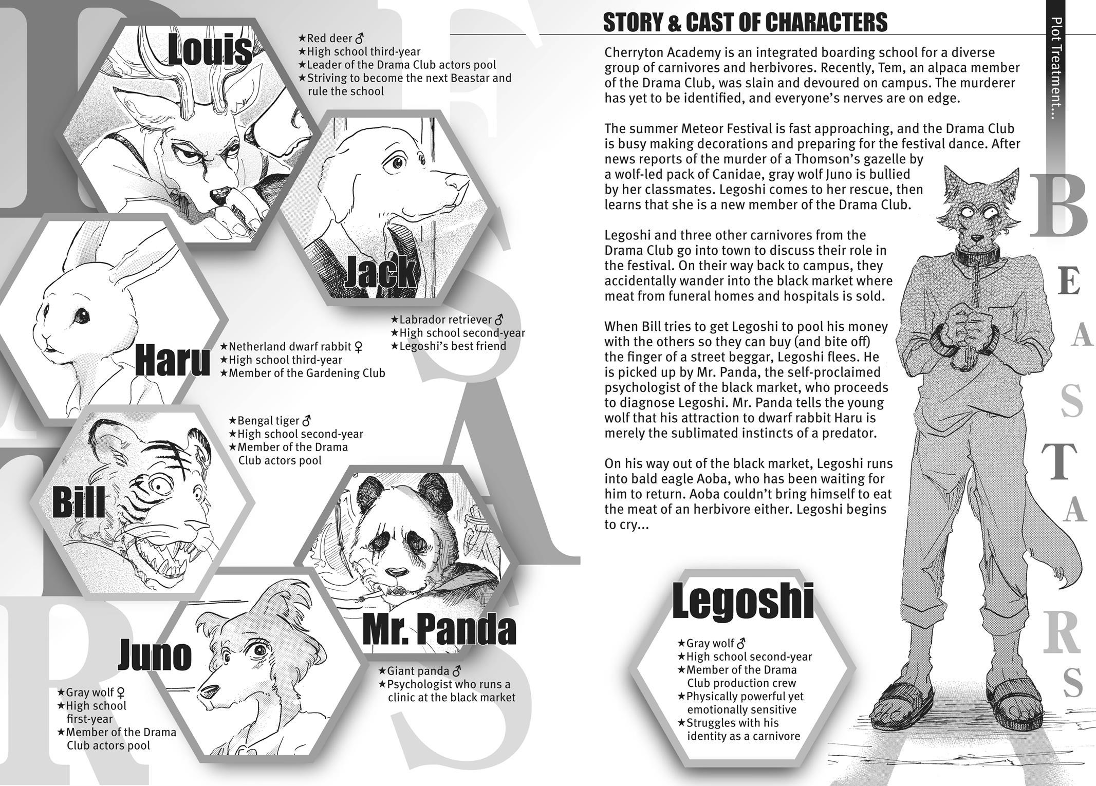 Beastars Manga, Chapter 26 image 004