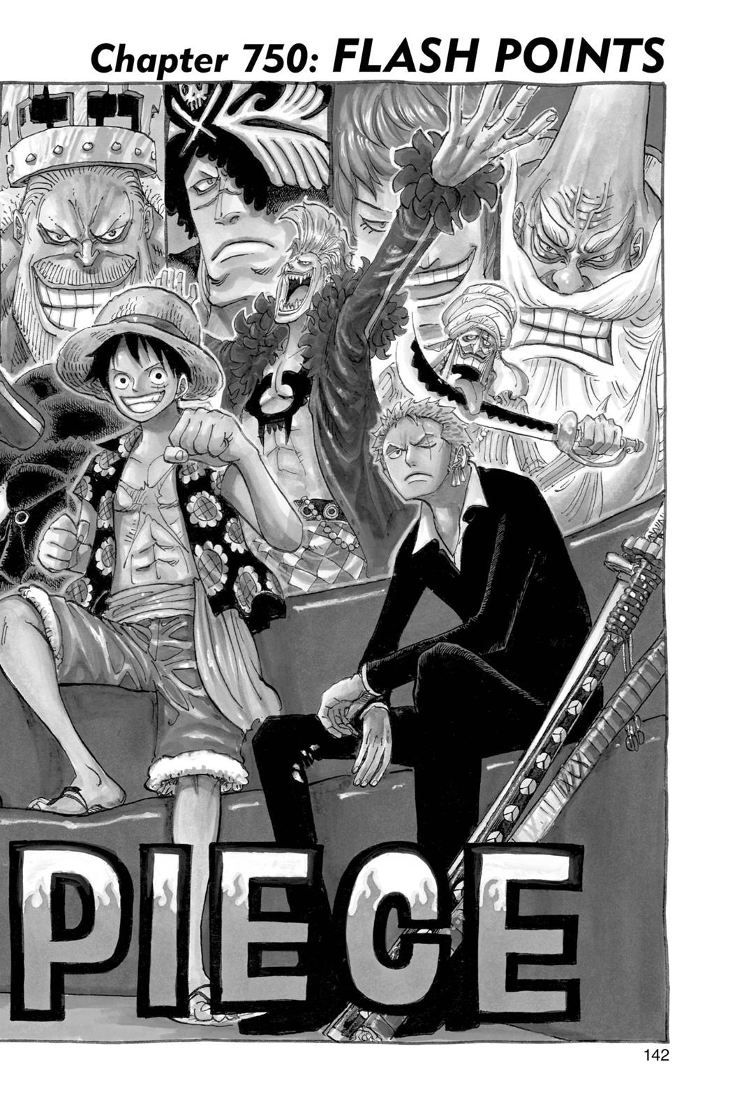 One Piece, Chapter 750 image 001