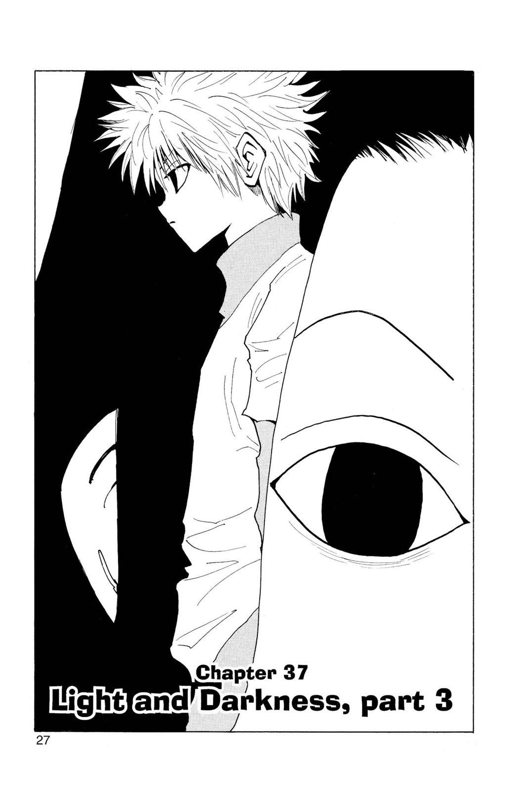 Hunter X Hunter, Chapter 37 image 001