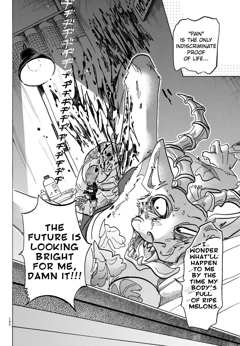 Beastars Manga, Chapter 139 image 016