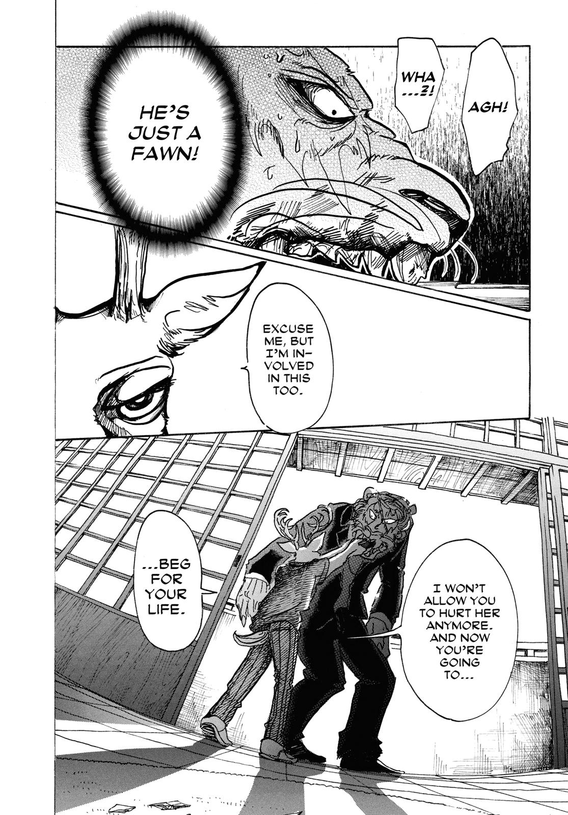 Beastars Manga, Chapter 42 image 009