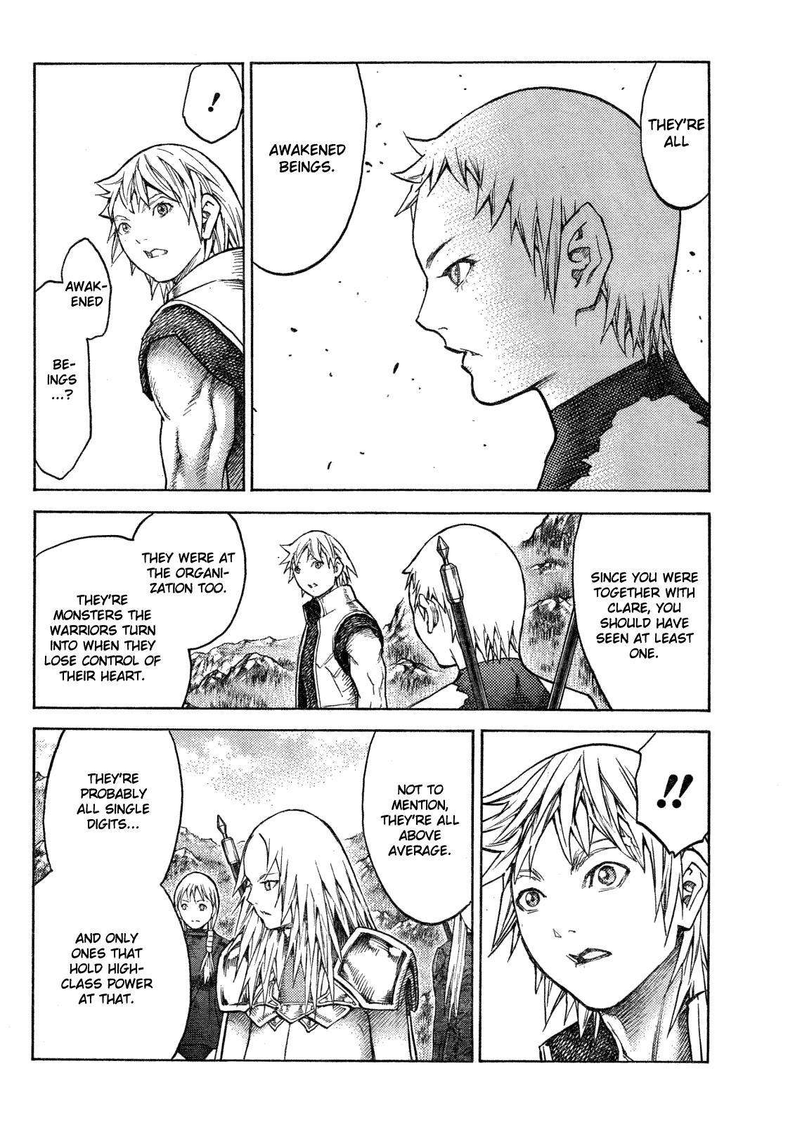 Claymore, Chapter 128 image 007