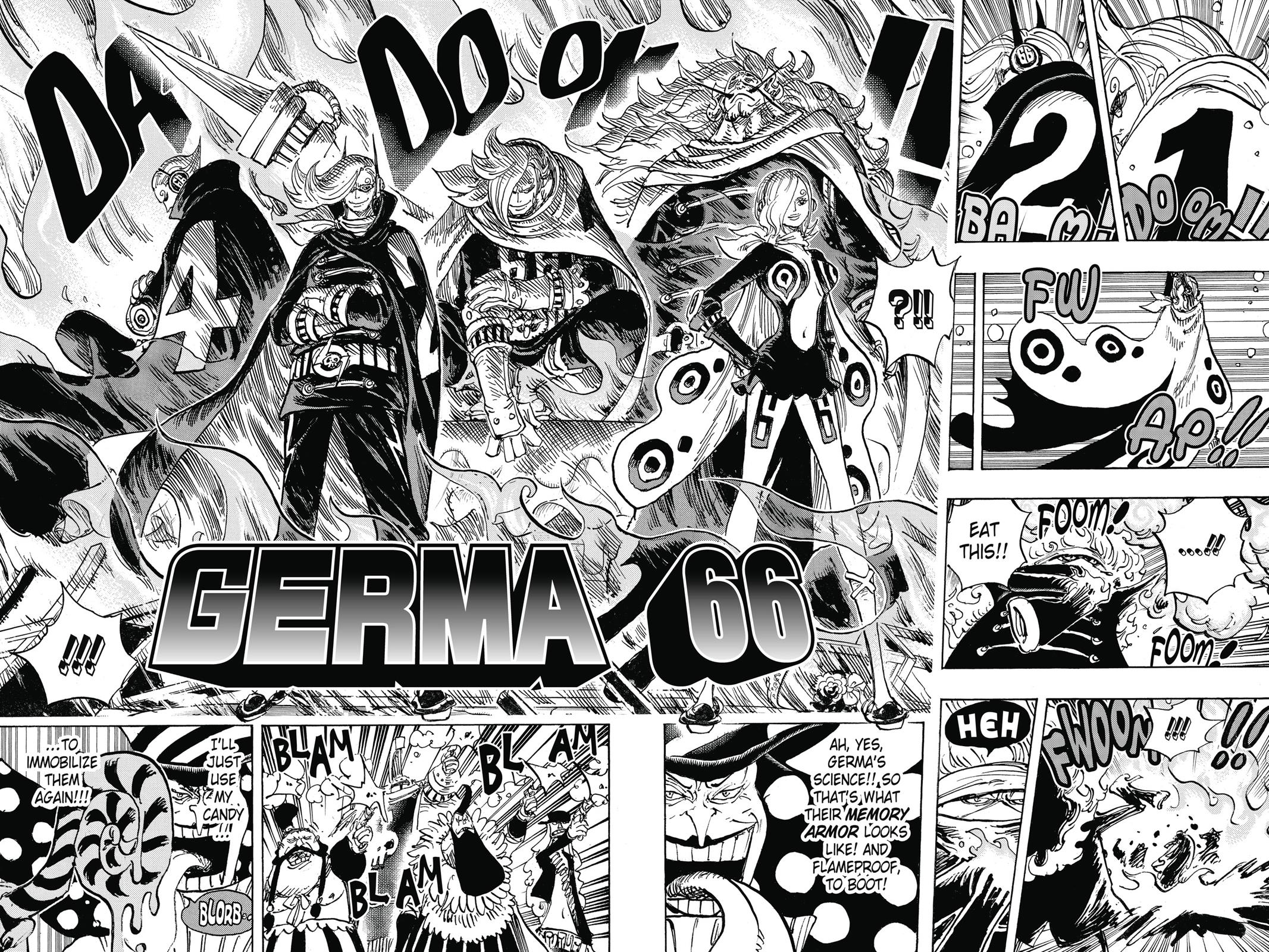 One Piece, Chapter 869 image 008
