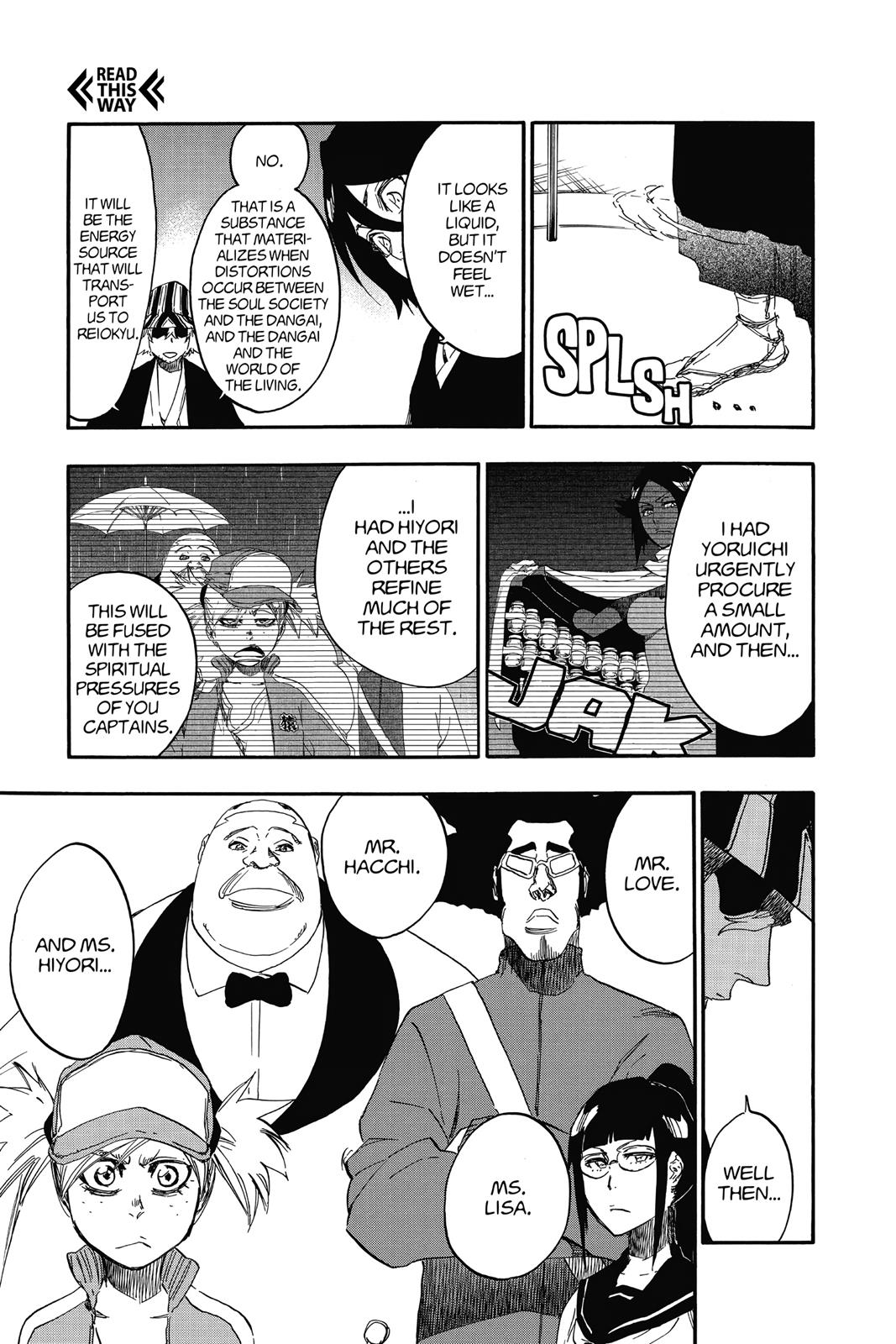 Bleach, Chapter 614 image 003