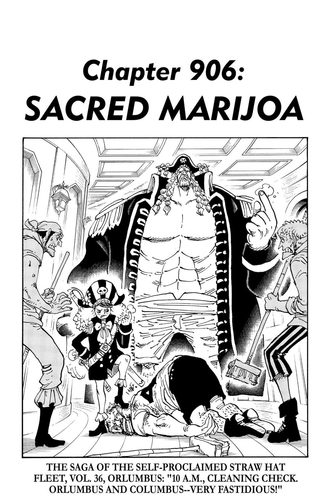 One Piece, Chapter 906 image 001