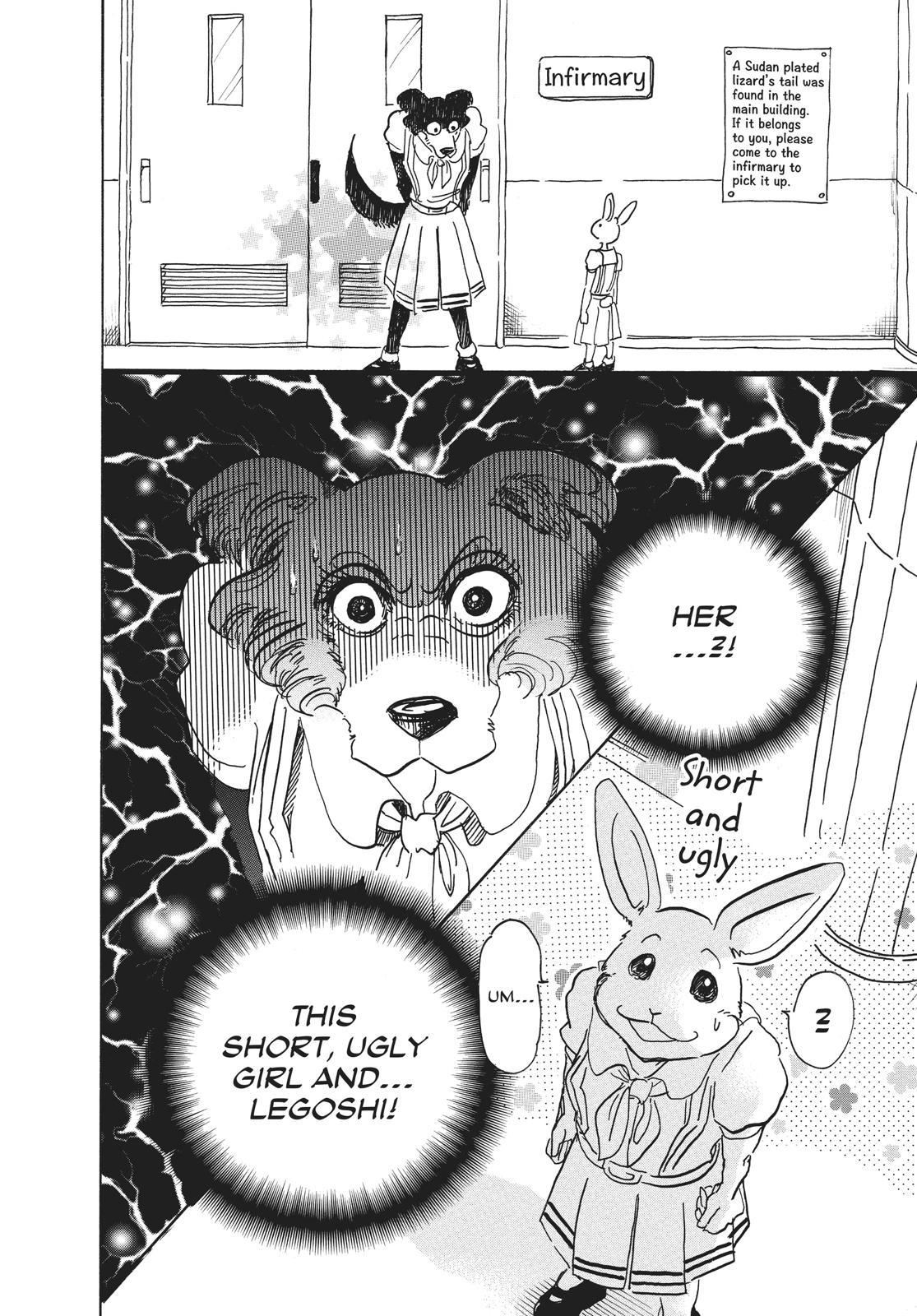 Beastars Manga, Chapter 45 image 012