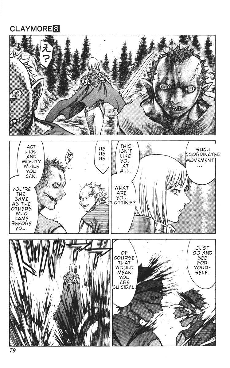 Claymore, Chapter 42 image 008