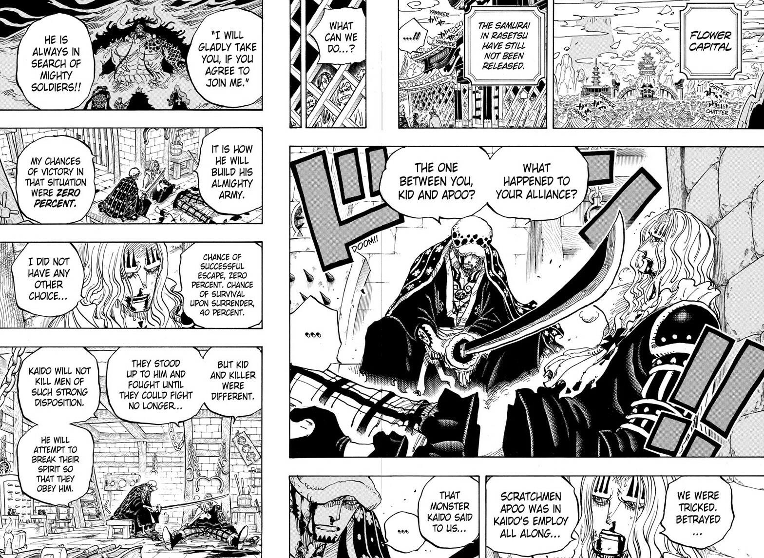 One Piece, Chapter 954 image 004