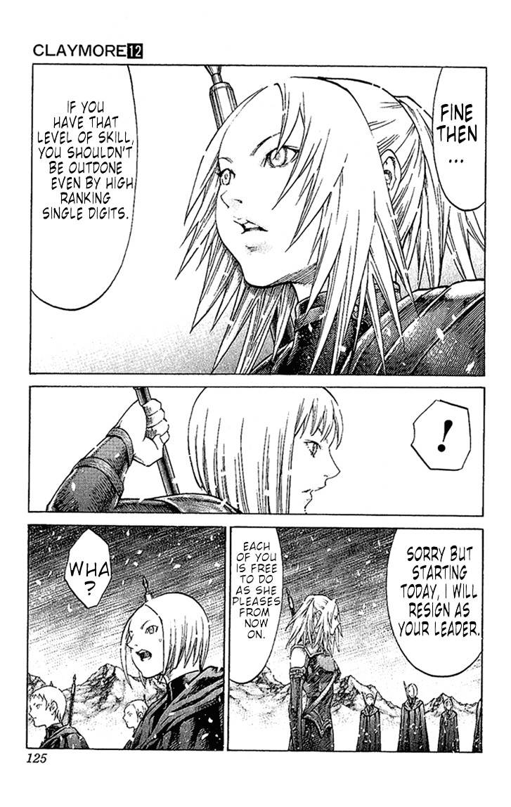 Claymore, Chapter 67 image 021