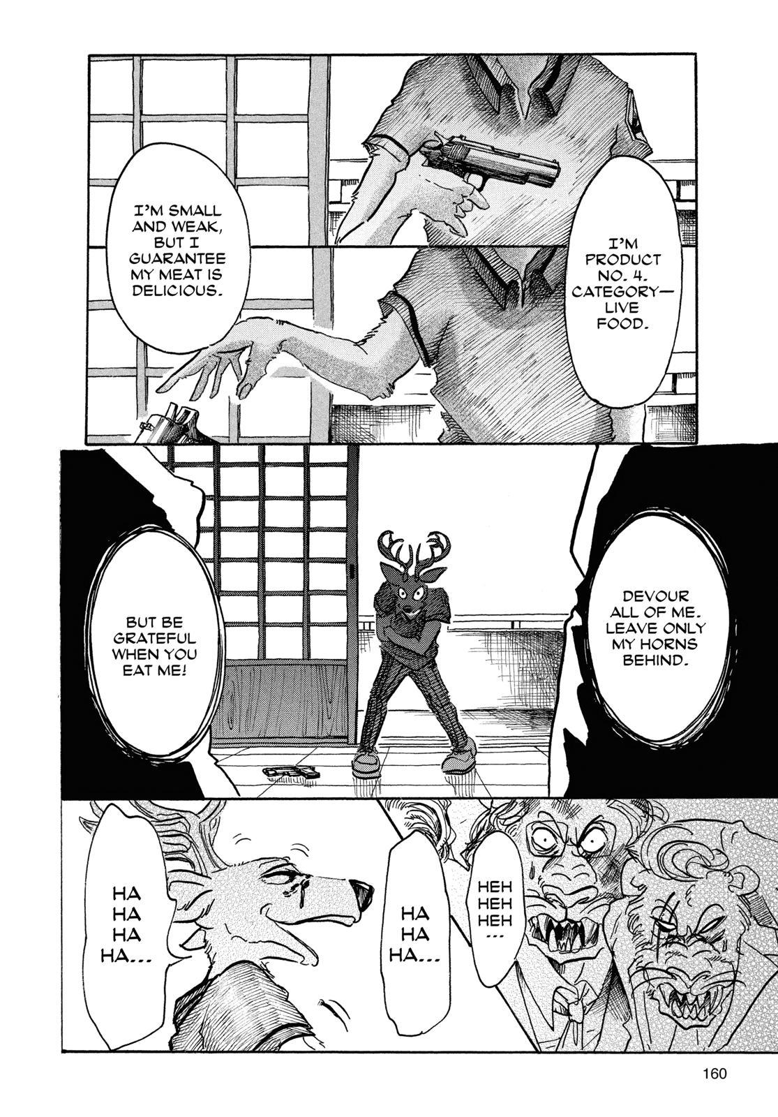 Beastars Manga, Chapter 42 image 013