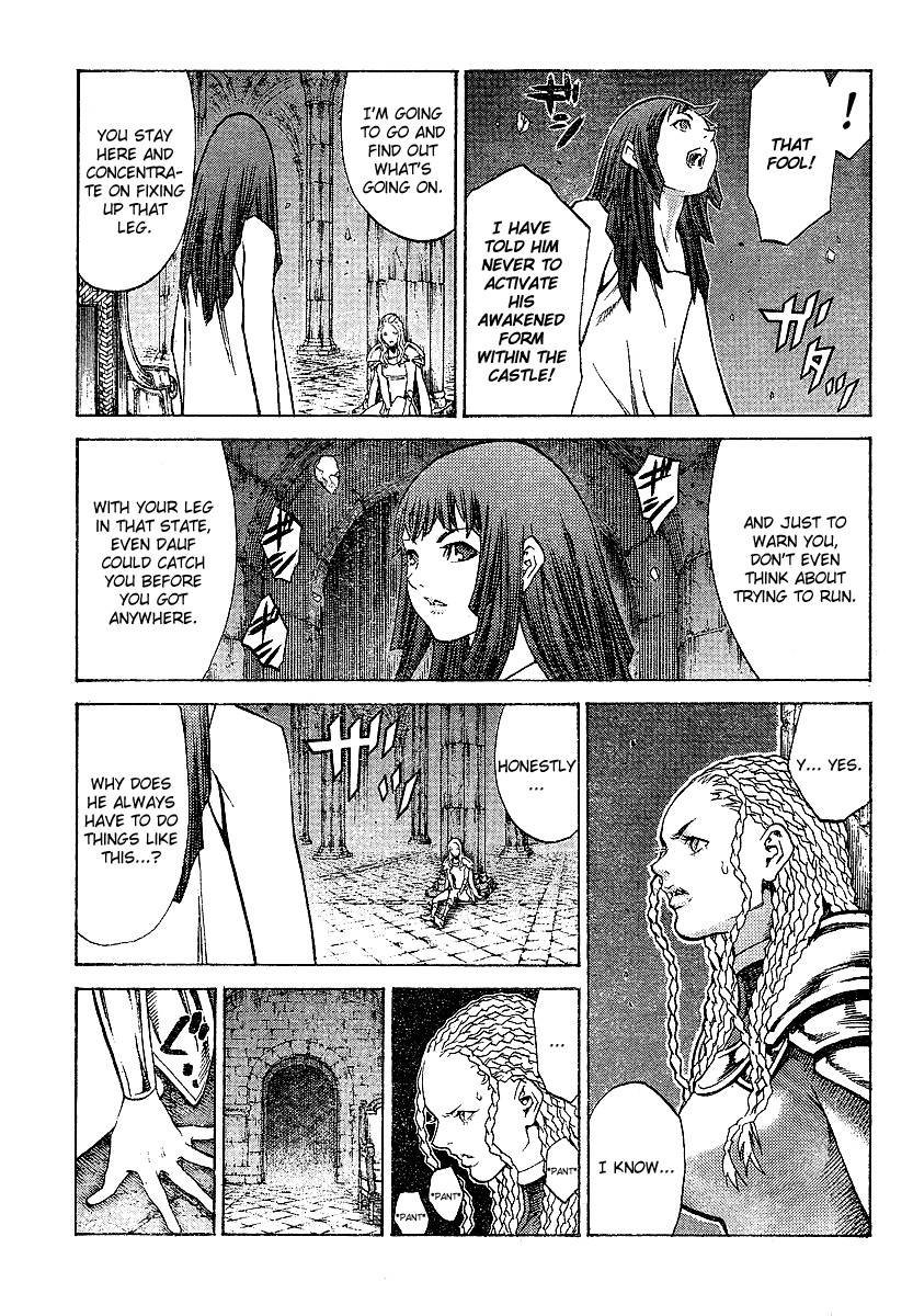 Claymore, Chapter 91 image 009