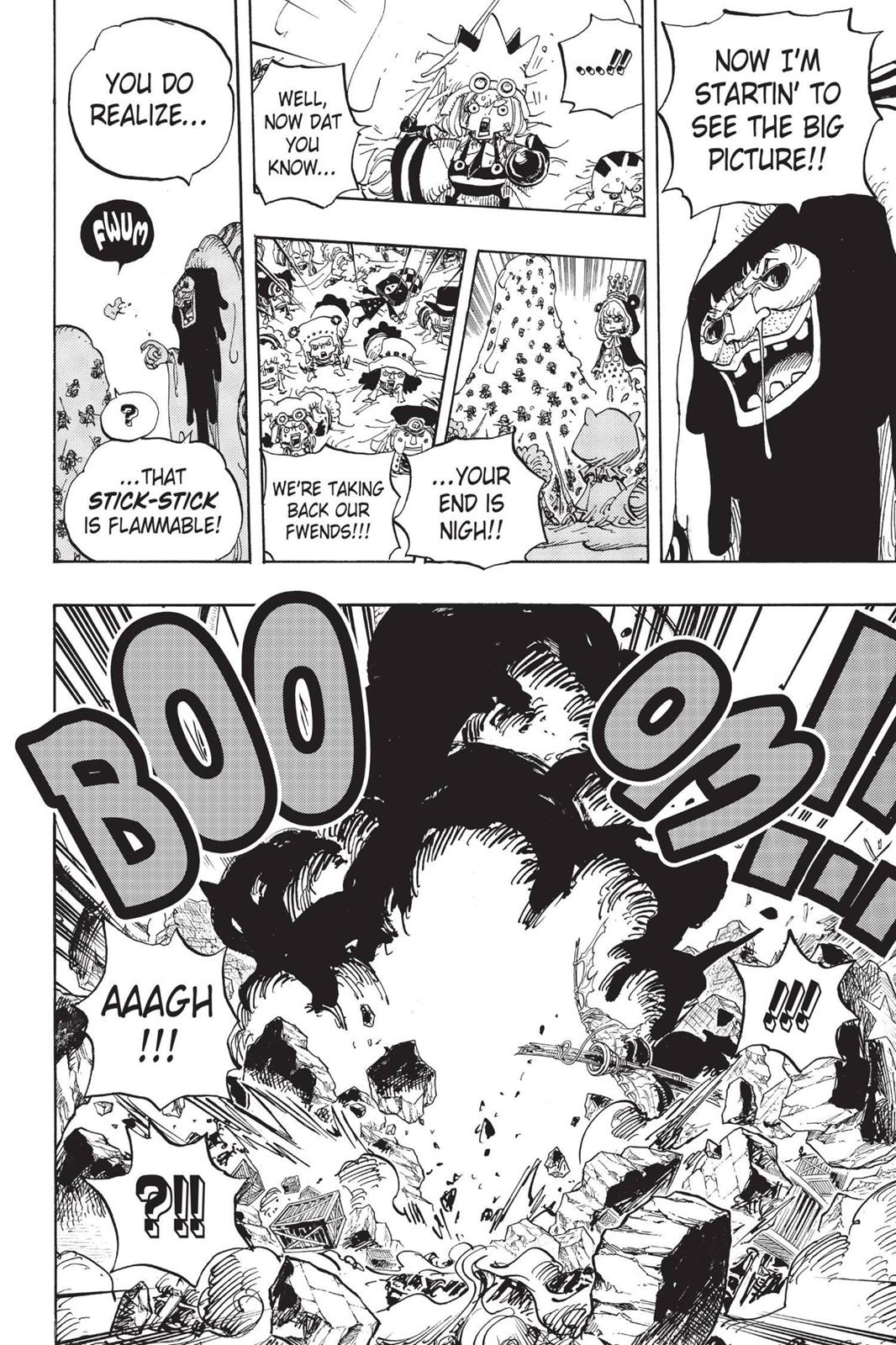 One Piece, Chapter 739 image 006